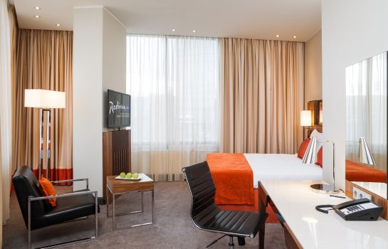 Junior Suite radisson blu moscow sheremetyevo