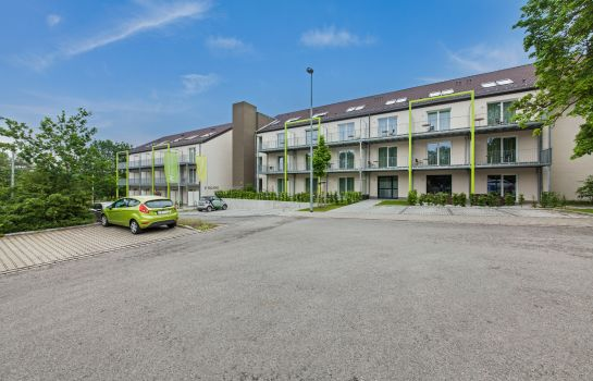 Buitenaanzicht Novum Like Apart Serviced Apartments