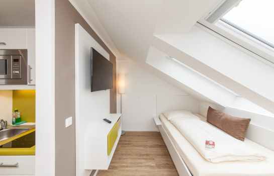 Eenpersoonskamer (standaard) Novum Like Apart Serviced Apartments