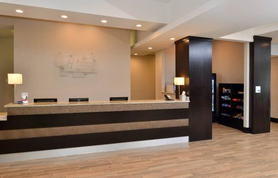 Hotelhalle Holiday Inn Express & Suites AUSTIN SOUTH