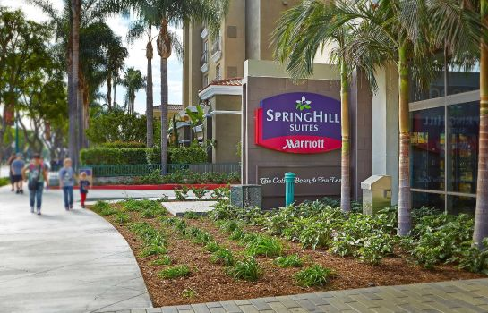 Exterior view SpringHill Suites at Anaheim Resort/Convention Center