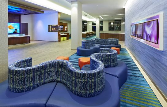Lobby SpringHill Suites at Anaheim Resort/Convention Center