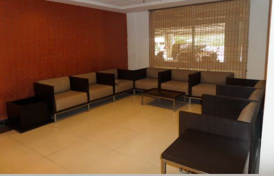 Hall de l'hôtel Om Residency Prestige Shanti Niketan Serviced Apartments