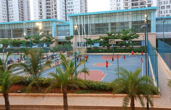 Court de tennis Om Residency Prestige Shanti Niketan Serviced Apartments