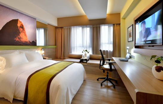 Double room (superior) Atour S Hotel South Gate Branch