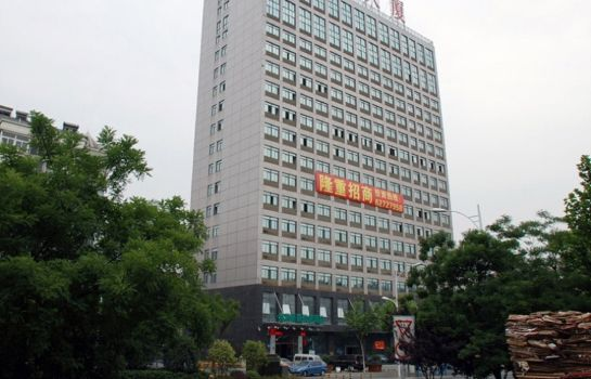 Buitenaanzicht Green Tree Bozhou Road Jindi Building Business Hotel (Domestic only)