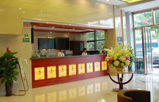 Receptie Green Tree Bozhou Road Jindi Building Business Hotel (Domestic only)