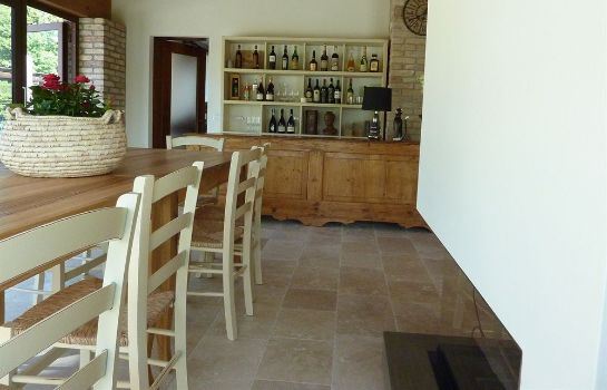 Vista all'interno B&B Ca' Gemma