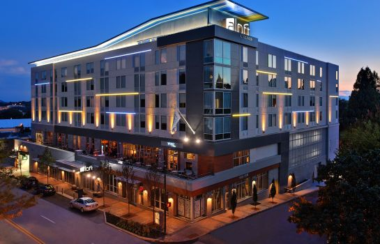 Vista esterna Aloft Asheville Downtown