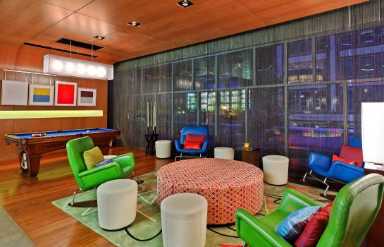 Hotel bar Aloft Asheville Downtown