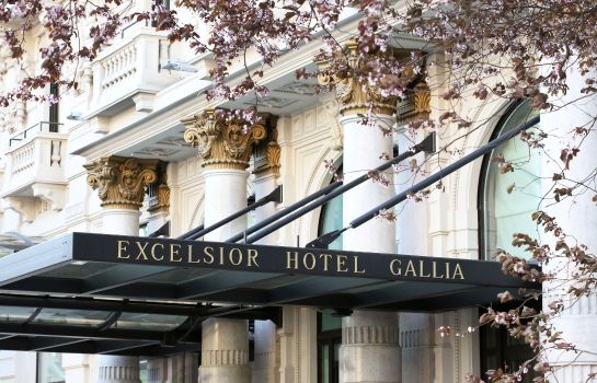 Vista exterior Excelsior Hotel Gallia a Luxury Collection Hotel Milan