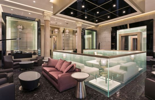 Bar del hotel Excelsior Hotel Gallia a Luxury Collection Hotel Milan