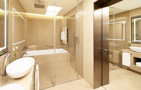 Cuarto de baño Excelsior Hotel Gallia a Luxury Collection Hotel Milan