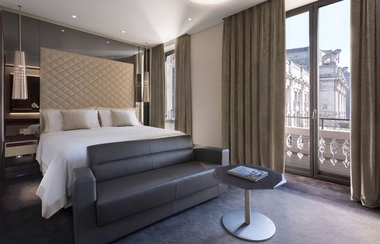 Doppelzimmer Standard Milan  a Luxury Collection Hotel Excelsior Hotel Gallia
