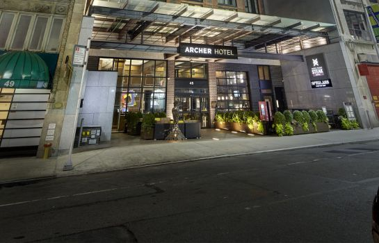 Buitenaanzicht ARCHER HOTEL NEW YORK