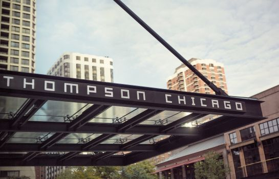 Buitenaanzicht THOMPSON CHICAGO