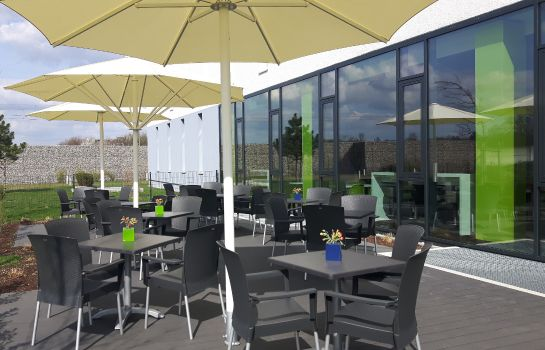 Terras ibis budget Muenchen City Olympiapark