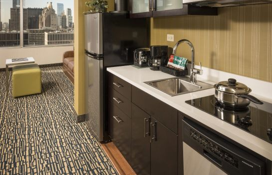 Hotel-Bar Homewood Suites by Hilton Chicago Downtown-Magnificent Mile