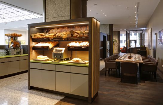 Breakfast buffet elements pure Feng Shui Hotel Bremen