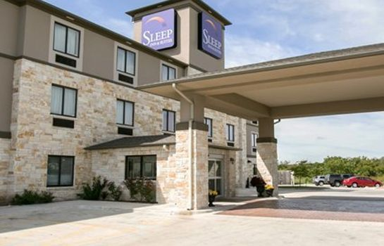 Buitenaanzicht Sleep Inn & Suites Austin North - I-35