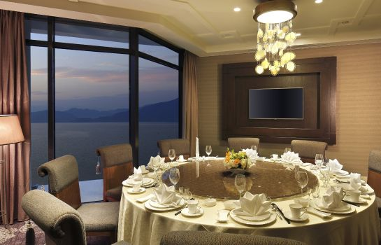 Restauracja Crowne Plaza HUANGSHAN TAIPING LAKE