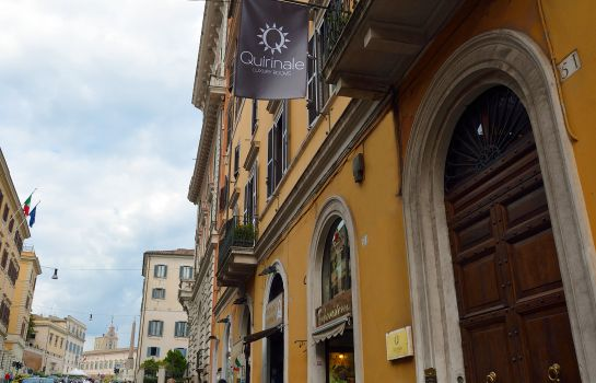 Exterior view Quirinale Luxury Rooms