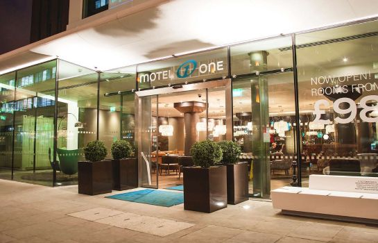 Außenansicht Motel One London Tower Hill
