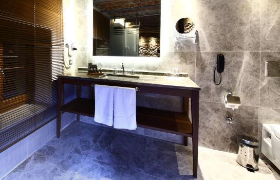 Badezimmer Montania Special Class Boutique Hotel