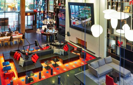 Hall de l'hôtel citizenM Times Square New York