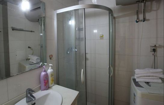 Bagno in camera Fangjiayuan Apartment Chengkai Plaza