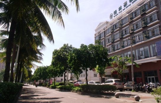 Außenansicht Green Tree East Train Station East Fengxiang Road Business Hotel (Domestic only)