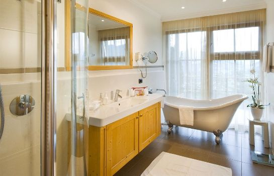 Bagno in camera Alpin Panorama Hotel Hubertus