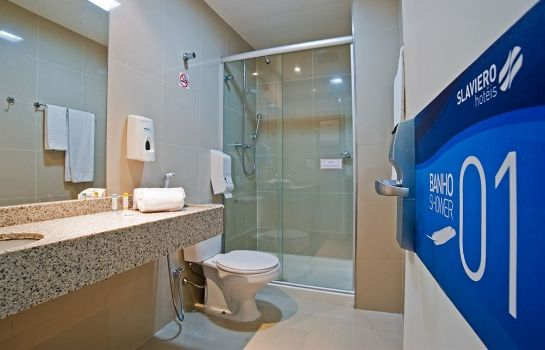 Bagno in camera Slaviero Fast Sleep Guarulhos