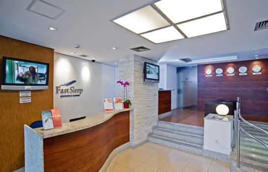Reception Slaviero Fast Sleep Guarulhos
