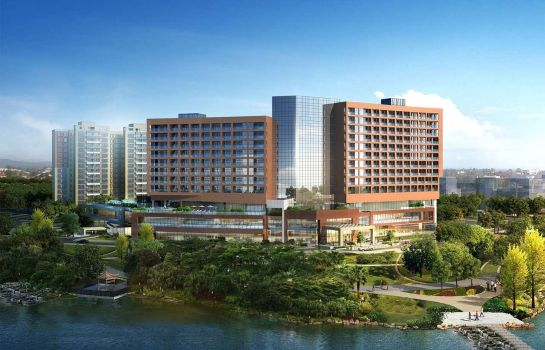 Außenansicht DoubleTree by Hilton Guangzhou- Science City