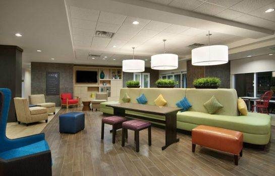 Hotelhalle Home2 Suites by Hilton New York Long Island City NY
