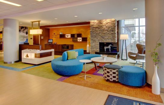 Lobby Fairfield Inn & Suites Rehoboth Beach