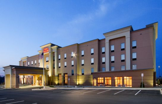Außenansicht Hampton Inn - Suites York South