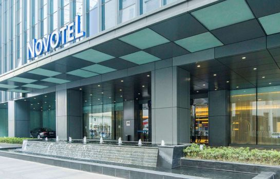 Exterior view Novotel Nanjing Central Suning