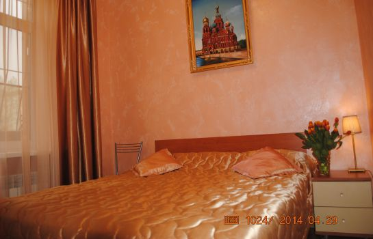 Double room (standard) Gostevoy Dom on Slobodskaya