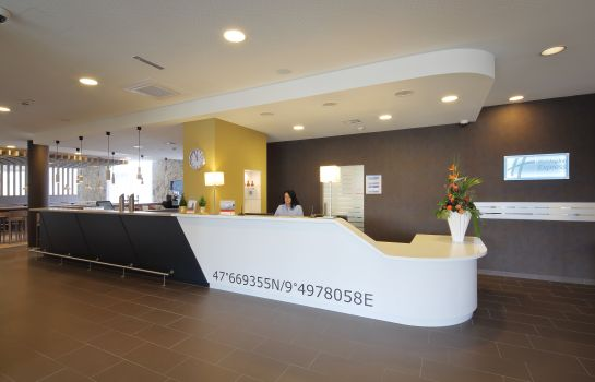 Reception Holiday Inn Express FRIEDRICHSHAFEN