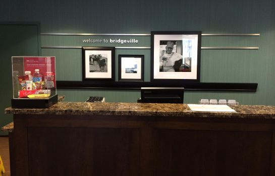 Hotelhalle Hampton Inn Pittsburgh-Bridgeville PA