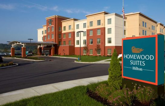 Exterior view Homewood Suites by Hilton Pittsburgh Airport Robinson Mall