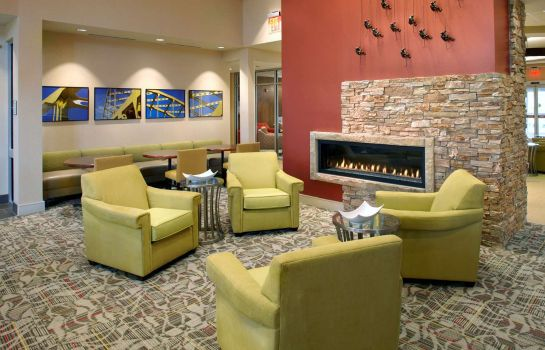 Lobby Homewood Suites by Hilton Pittsburgh Airport Robinson Mall