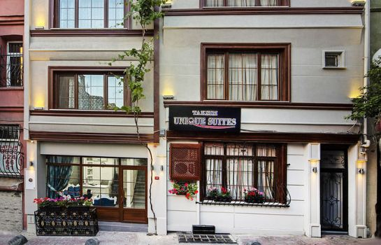 Buitenaanzicht Taksim Unique Suites