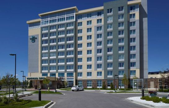 Vista exterior Homewood Suites by Hilton Calgary-Airport
