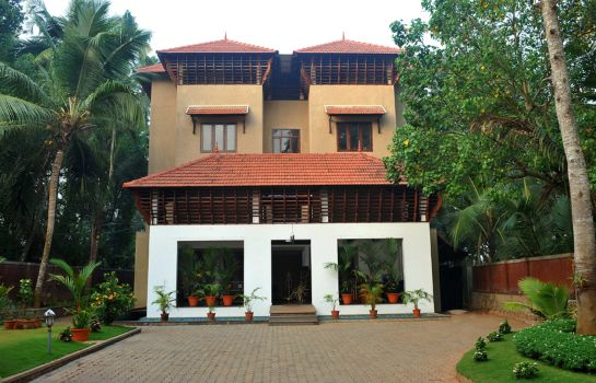 Exterior view Ananda Lakshmi Ayurveda Retreat