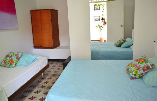 Triple room Hotel Santa Cruz Cartagena
