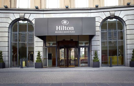 Exterior view Hilton Brussels Grand Place