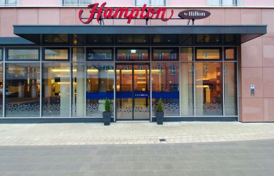 Außenansicht Hampton by Hilton Nuremberg City Center Bavaria